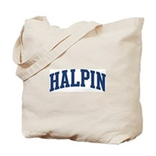 HALPIN design (blue) Tote Bag