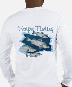 Striper Fishing Long Sleeve T-Shirt