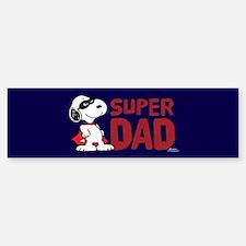 Super Dad Bumper Bumper Bumper Sticker