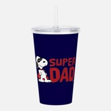 Super Dad Acrylic Double-wall Tumbler
