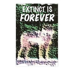 Extinct is Forever Postcards (Package of 8)