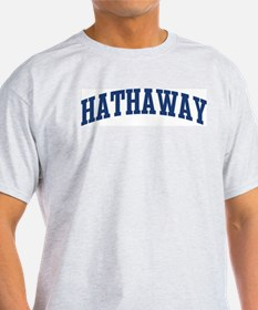 HATHAWAY design (blue) T-Shirt