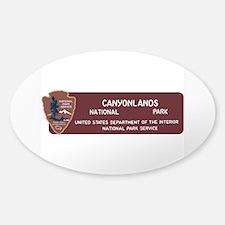 Canyonlands National Park, Utah Sticker (Oval)