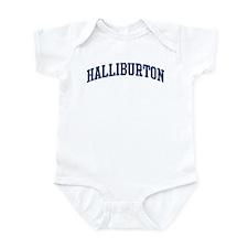 HALLIBURTON design (blue) Infant Bodysuit