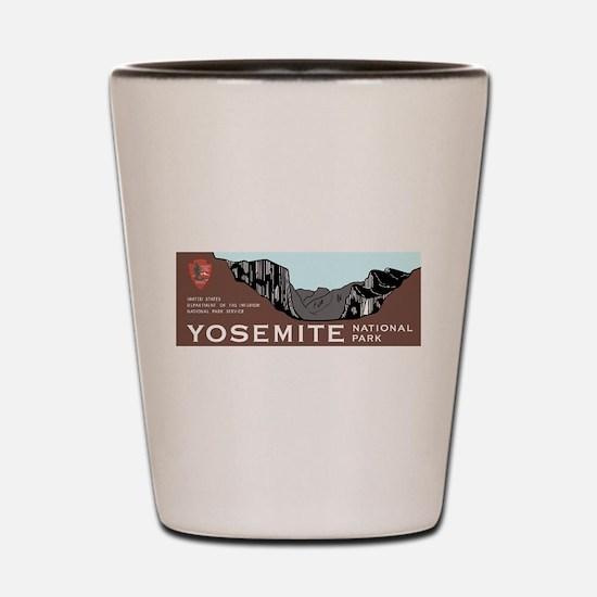 Yosemite National Park, California Shot Glass