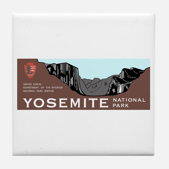 Yosemite National Park, California Tile Coaster