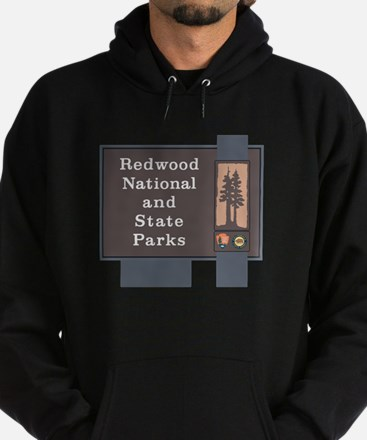 Redwood National and State Parks, Ca Hoodie (dark)