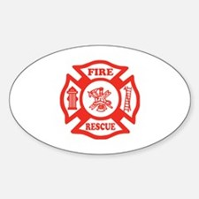 Funny Fire fighter maltese Decal