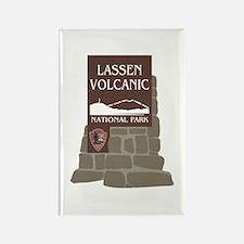 Lassen Volcanic National Park, Ca Rectangle Magnet