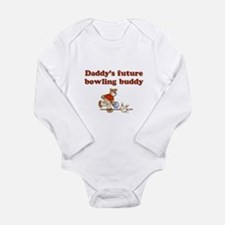 Daddy's Future Bowling Buddy Infant Creeper Body S