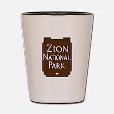 Zion National Park, Utah Shot Glass