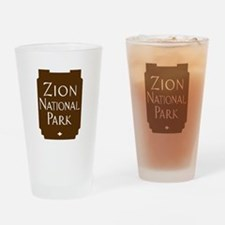 Zion National Park, Utah Drinking Glass