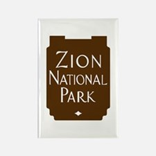Zion National Park, Utah Rectangle Magnet