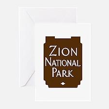 Zion National Park, Utah Greeting Cards (Pk of 10)