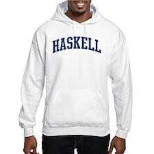 HASKELL design (blue) Hoodie