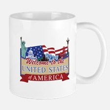 Welcome to the United States of America Mug