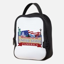 Welcome to the United States of Neoprene Lunch Bag