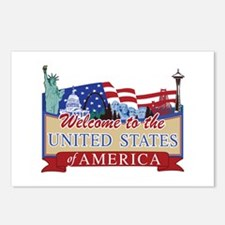 Welcome to the United Sta Postcards (Package of 8)