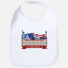 Welcome to the United States of America Bib
