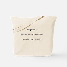 Level One Human Tote Bag