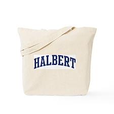 HALBERT design (blue) Tote Bag