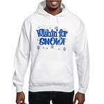 Wishin' For Snow Hooded Sweatshirt