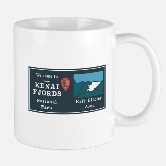 Kenai Fjords National Park, Alaska Mug