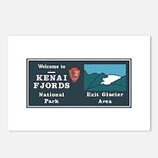 Kenai Fjords National Par Postcards (Package of 8)