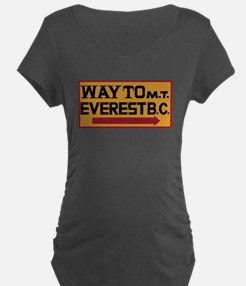 Way to Mt. Everest B. C., N T-Shirt