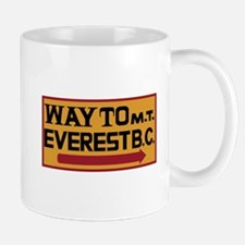 Way to Mt. Everest B. C., Nepal Mug