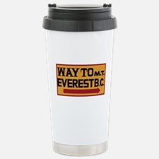 Way to Mt. Everest B. C Stainless Steel Travel Mug