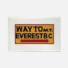 Way to Mt. Everest B. C., Nepal Rectangle Magnet