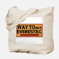Way to Mt. Everest B. C., Nepal Tote Bag