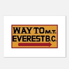 Way to Mt. Everest B. C., Postcards (Package of 8)