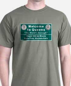 Welcome to Queens, NYC T-Shirt