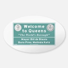 Welcome to Queens, NYC Decal