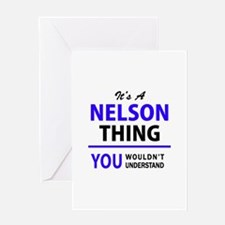 It's NELSON thing, you wouldn't und Greeting Cards