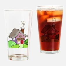 Unique Love shack Drinking Glass