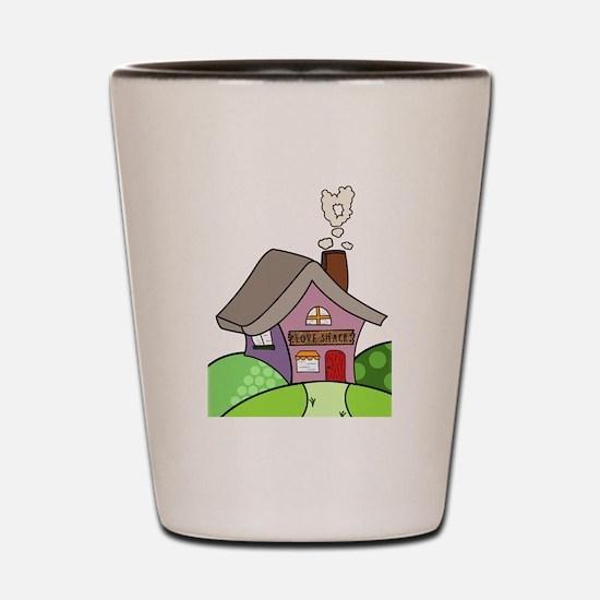 Cute Housewarming Shot Glass