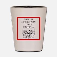 texas football Shot Glass