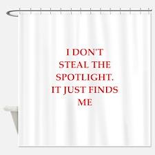spotlight Shower Curtain