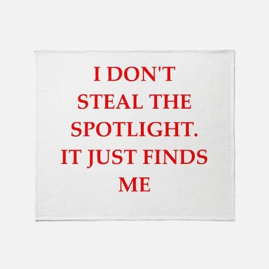 spotlight Throw Blanket