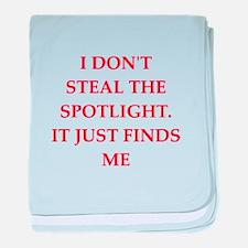 spotlight baby blanket