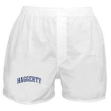HAGGERTY design (blue) Boxer Shorts