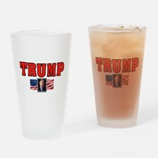 TRUMP VICTORY Drinking Glass