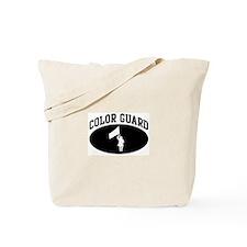 Color Guard (BLACK circle) Tote Bag