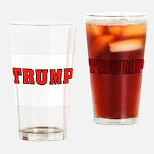 TRUMP Drinking Glass