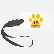 I Love Glen of Imaal Terrier Dog Luggage Tag