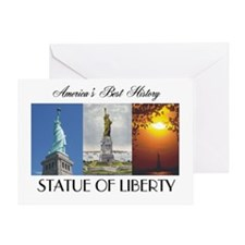 ABH Statue of Liberty Greeting Card