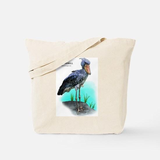 Shoebill Tote Bag